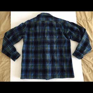 Pendleton Shirts - PENDLETON Virgin Wool Plaid Board Shirt Sz Med